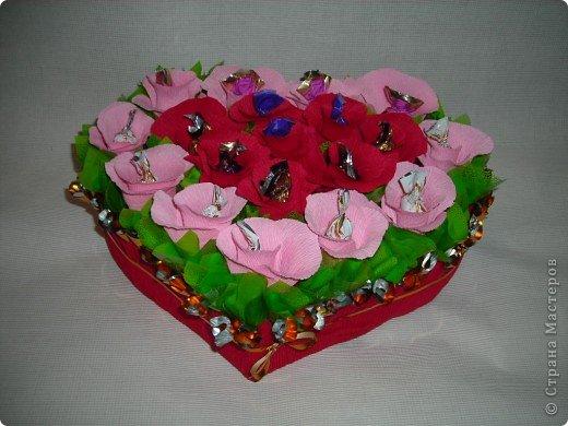 Букеты из конфет фото 1