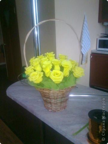 Люблю желтые розы...нет не желтые ЗОЛОТЫЕ!!! :-) фото 1