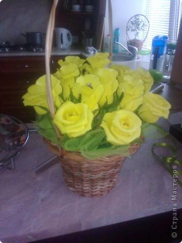 Люблю желтые розы...нет не желтые ЗОЛОТЫЕ!!! :-) фото 3