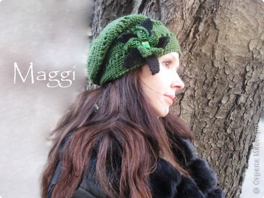 Зеленая шапочка фото 1