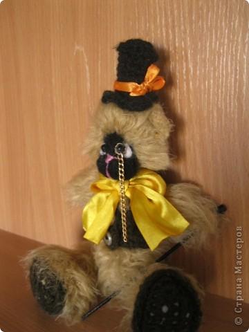 Это моя вторая игрушка.Зовут этого мишку-джентельмена Фелекс Харитонович.Он истиный джентельмен и ищет себе достойного хозяина.^_____^ фото 3