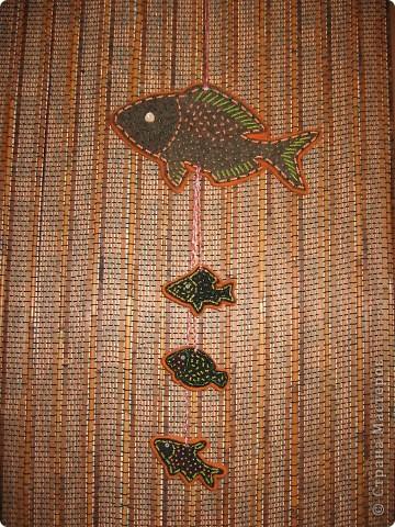 Этнические рыбки получились фото 3
