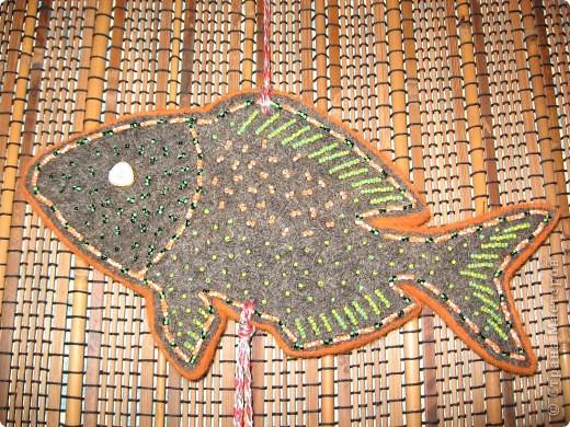 Этнические рыбки получились фото 4