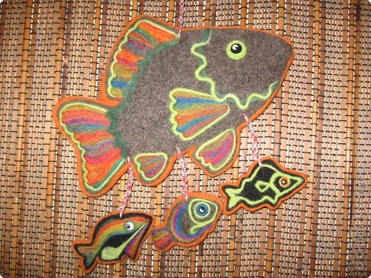 Этнические рыбки получились фото 2