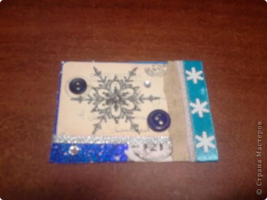 Вот и снова я со своими карточками. Нашел у себя где-то в закромах новогодние распечатки, которые использовал еще в сааааааамых первых новогодних открытках. В результате получилась вот такая серия из 5 карточек. Количество моих кредиторов (наконец то!) уменьшилось до одного - это ЛЁКА ЛЁКИНА. Она выбирает первой. Оставшиеся три карточки для свободного обмена. фото 7