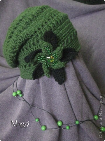 Зеленая шапочка фото 2