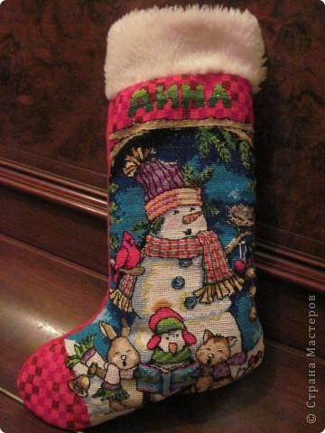 Рождественские сапожки фото 5