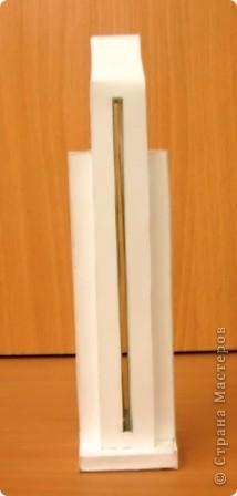 Ещё одна работа из копилочки моего мужа. Макет малой архитектурной формы в зоне отдыха. Работу выполнил Волков Александр, учащийся 9 класса. Попробую показать по частям. фото 8