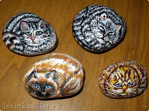 Ожившие камушки (роспись)