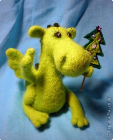 К Новому драконьему году я сделала дракончиков-хранителей несметных богатств ))))  фото 15