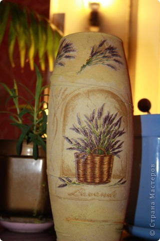 вазы декупаж фото 3