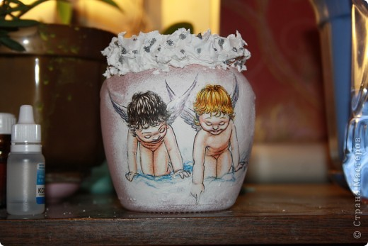 вазы декупаж фото 6