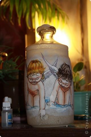 вазы декупаж фото 5