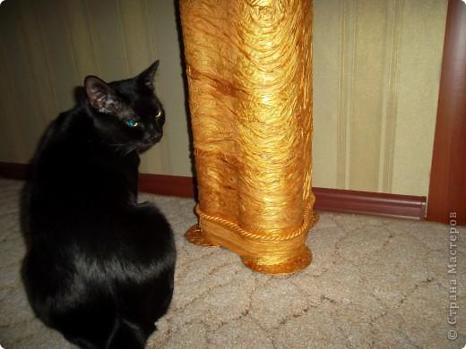 Напольная ваза с веточками из ивы фото 6