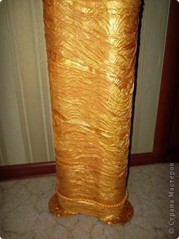 Напольная ваза с веточками из ивы фото 8