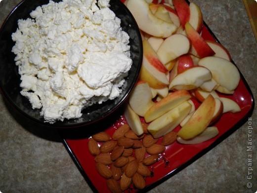 Творожно-яблочный пирог фото 2