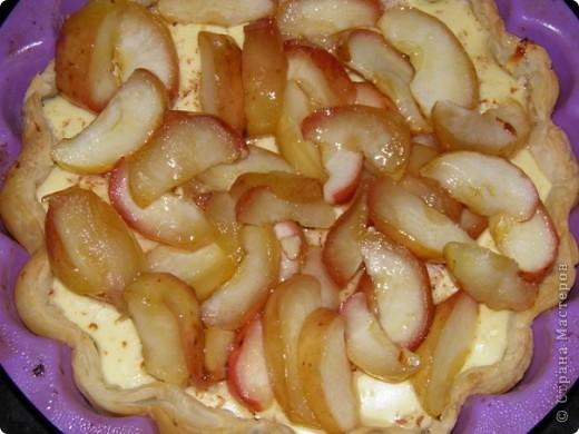 Творожно-яблочный пирог фото 7