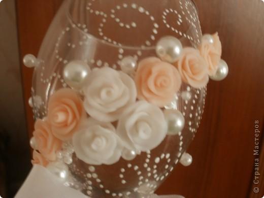 Мои первые Свадебные бокальчики! фото 3
