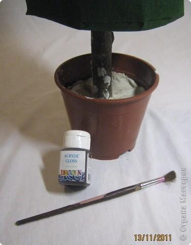 Хочу поделится с Вами тем, как делаю я елочки из конфет. Надеюсь, что Вы еще успеете воспользоваться моим МК. Высота показанной елочки около 75 см. фото 12