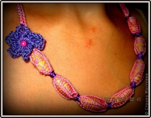 Волшебная Нить, и вязание бусы из нее. фото 1