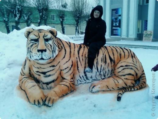 2012- слепила Дракошу - сердитый весьма. фото 3