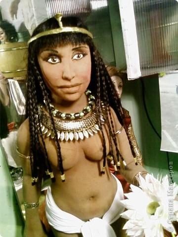 """Текстильная кукла """"Цветок лотоса"""" фото 3"""