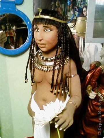 """Текстильная кукла """"Цветок лотоса"""" фото 2"""