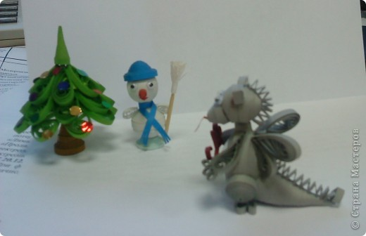 Дракоша и Снеговик фото 2
