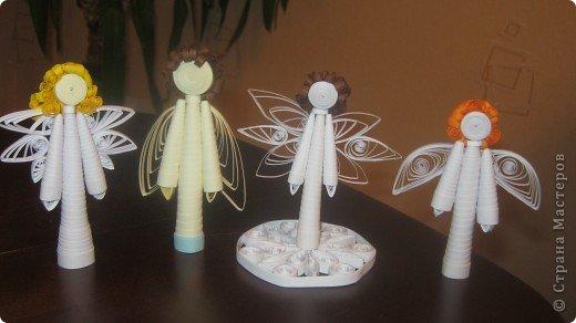 Обожаю  Ангелочков .. особенно их творить .. такие разные все получаются ))