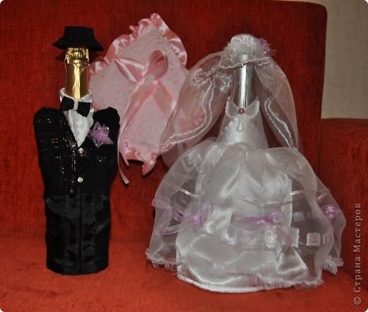 """Шьем Свадебные бутылки-3 - шитье """" Поиск мастер классов, поделок своими руками и рукоделия на SearchMasterclass.Net"""