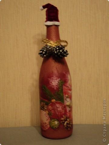 Новогодние бутылки фото 5