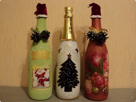 Новогодние бутылки фото 2