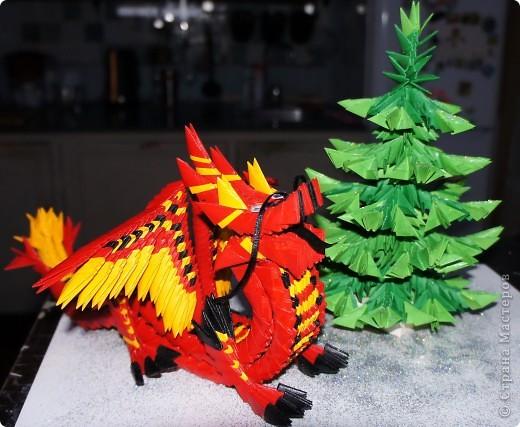 Красный дракон и ёлочка