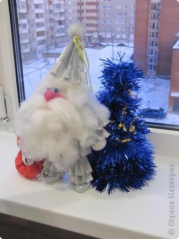 Дед мороз игрушка на елку своими руками