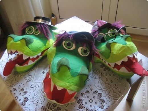 2012 Новый год - год Дракона. вот такой костюм для выступления был мной сделан к самому лучшему празднику - Новому году. фото 4