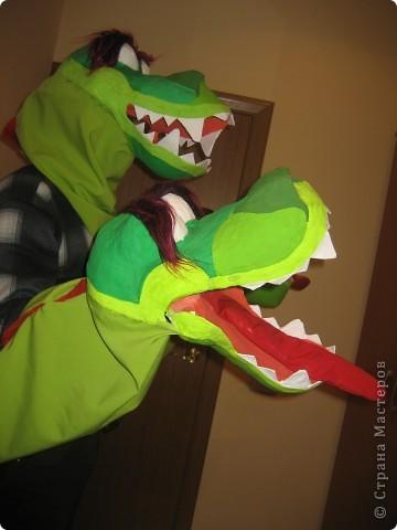 2012 Новый год - год Дракона. вот такой костюм для выступления был мной сделан к самому лучшему празднику - Новому году. фото 49