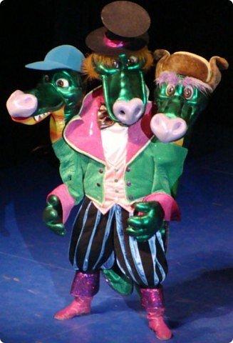 2012 Новый год - год Дракона. вот такой костюм для выступления был мной сделан к самому лучшему празднику - Новому году. фото 9