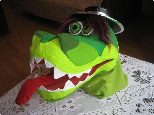 2012 Новый год - год Дракона. вот такой костюм для выступления был мной сделан к самому лучшему празднику - Новому году. фото 52