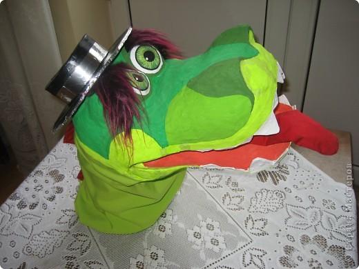 2012 Новый год - год Дракона. вот такой костюм для выступления был мной сделан к самому лучшему празднику - Новому году. фото 7