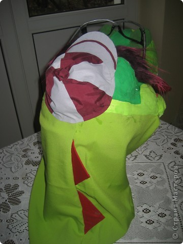 2012 Новый год - год Дракона. вот такой костюм для выступления был мной сделан к самому лучшему празднику - Новому году. фото 55