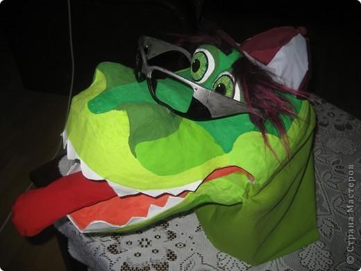 2012 Новый год - год Дракона. вот такой костюм для выступления был мной сделан к самому лучшему празднику - Новому году. фото 54