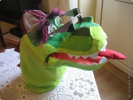 2012 Новый год - год Дракона. вот такой костюм для выступления был мной сделан к самому лучшему празднику - Новому году. фото 8