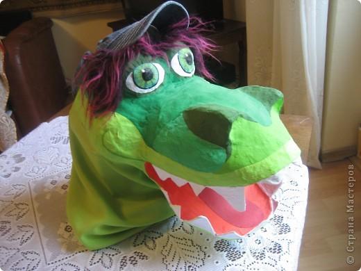 2012 Новый год - год Дракона. вот такой костюм для выступления был мной сделан к самому лучшему празднику - Новому году. фото 6