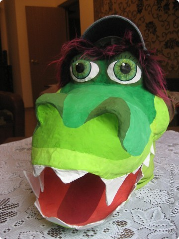 2012 Новый год - год Дракона. вот такой костюм для выступления был мной сделан к самому лучшему празднику - Новому году. фото 51