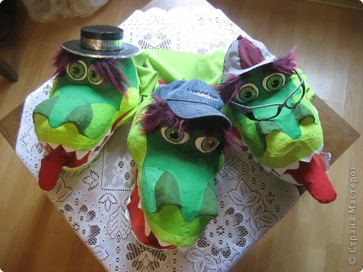 2012 Новый год - год Дракона. вот такой костюм для выступления был мной сделан к самому лучшему празднику - Новому году. фото 57