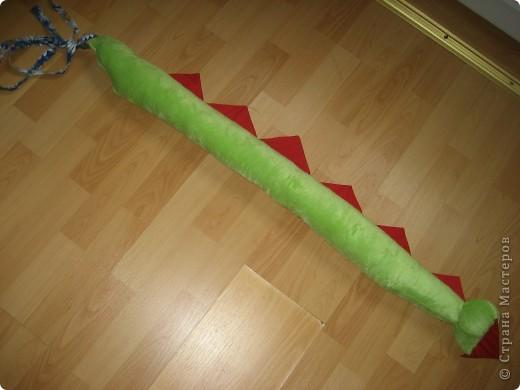 2012 Новый год - год Дракона. вот такой костюм для выступления был мной сделан к самому лучшему празднику - Новому году. фото 56