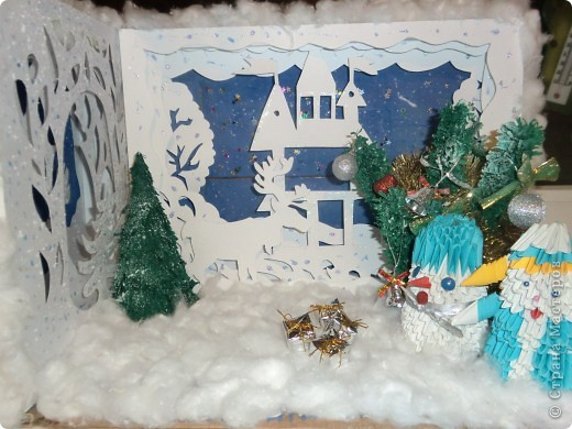 Новогодняя сказка поделки в детский сад