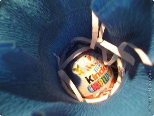 Сегодня меня поздравляли ребята, и я поздравляла ребят  :) Приготовила им вот такие сюрпризы. Коробочки-снеговики.   фото 6