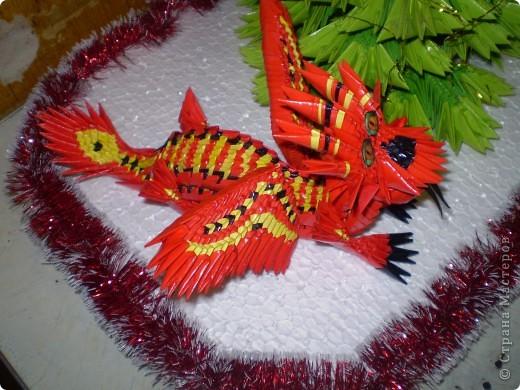 Мій дракончик ,зробила по фото http://stranamasterov.ru/node/284898 фото 2