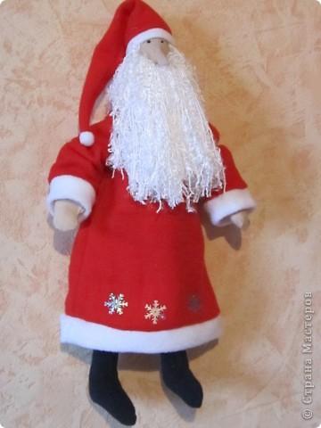 Дед мороз тильда своими руками выкройка